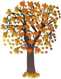 Jesienne drzewo gałąź wektor clipart | Wektory w domenie publicznej